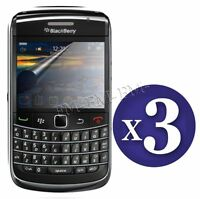 3 X Pack Clear LCD Screen Protector Gaurd Film For Blackberry Bold 9700 9780