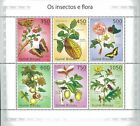 Guinea Bissau 2010 Stamp, Insect, Flower, Butterfly