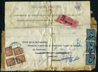CAIRO EGYPT 1928 TO BRUSSELS FOLDED FRONT OF ENVELOPE