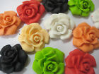 24 EDIBLE CUP CAKE TOPPERS CAKE DECORATIONS BIRTHDAY WEDDING SMALL ROSES FLOWERS