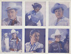 ROY ROGERS & WESTERN COWBOY ACTORS VINTAGE MOVIE AD PROMO PHOTO CARD