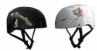 Team Dogz Stunt Pro Scooter Helmet for Skate Park White / Black Childs Crash Hat