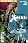 signed 1st print WOLVERINE And the X-MEN #2 REGENESIS MARVEL COMIC TIM TOWNSEND
