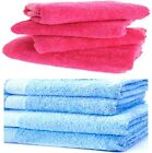 4 PC LUXURY TERRY COTTON BEACH BATH TOWELS HOLIDAY SWIMMING GYM SHOWER SHEETS