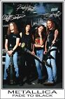 METALLICA - AUTOGRAPHED PHOTO - GREAT GIFT - GET IT NOW!