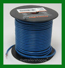 Trailer Light Cable Wiring Harness 14 Gauge 100' Wire Roll Blue Camper Trailer