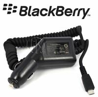 GENUINE BLACKBERRY MICRO IN CAR CHARGER FOR 9700 9780 9900 BOLD ASY-18083-001
