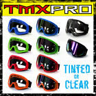 Clear or Tinted Motocross Goggle Goggles Glasses Racing ATV dirt bike quad trail