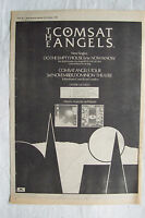1981 - COMSAT ANGELS - Do The Empty Room + UK Tour - Press Advert - Poster Size
