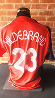 Hildebrand #23 Germany World Cup 2006 Away Football Shirt Large adult (10514)