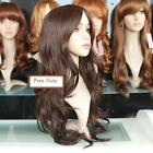 New hot fashion lovely women sexy long full wig wigs,kanekalon hair,top quality