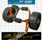 Solution Small Canoe or Kayak Trolley - BEST ON THE MARKET, fits in seakayak