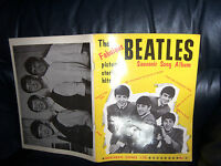 The Beatles 1963 FIRST Sheet Music SONG BOOK  YELLOW 1st Issue  NORTHERN SONGS