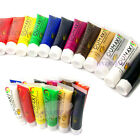 12 Color 3D Draw Paint Painting Brush Tube Acrylic UV Gel For Nail Art Tips 22ml