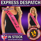 HEN NIGHT PARTY GIRLS NIGHT OUT SASH - PINK