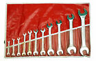 PROAMERICA Double Open End Metric Wrench Set 11 piece, 6-32MM, Made USA (86-40)