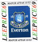 MATCH ATTAX 11/12 LIMITED EDITION CLUB BADGE EVERTON