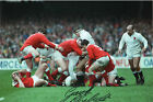 GARETH CHILLCOT signed ENGLAND Rugby Union legend in person signed 12x8
