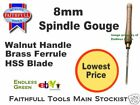 8mm Spindle Gouge Ideal for Myford Wood turning Lathe