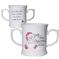 PERSONALISED BABYS MY FIRST 1ST CHRISTMAS GIFT CUP MUG UNIQUE KEEPSAKE GIFT