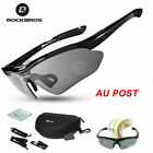 AU STOCK-RockBros Polarized Cycling Sunglasses Goggles Eyeware Sports Glasses