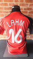 Lahm #16 Germany World Cup 2006 Away Football Shirt Small adult (10513)