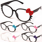 Hello Kitty Glasses Clear Lens Fashion Cat Eye Pink RX 6 Colors CF1852