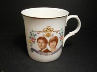 Bone China Cup To Commemorate The Wedding July 1981 Prince Charles & Lady Diana