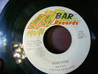 VG+ ORIGINAL PRESSING FUNK 45~MARTINI'S~HUNG OVER/LATE LATE PARTY~BAR~~HEAR IT