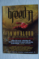 BREED 77 - In My Blood + UK Tour Dates - 2006 Magazine Advertisment Poster