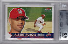 ALBERT PUJOLS 2001 FLEER TRADITION ROOKIE BGS 8.5
