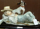 """GIUSEPPE ARMANI """"BOY AND DOG"""" NEW IN BOX-MAKE OFFER!"""