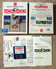 """Monopoly - Real Estate Trading - Virgin / Parker Brothers PC Big Box 3.5"""" Game"""