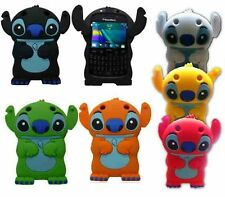 Silicone lilo & stitch Angel Cartoon Housse pour BLACKBERRY CURVE 9220 & 9320