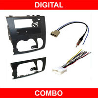 Car Stereo Radio Install Dash Mount Kit + Wire Harness for 2007-2011 Altima