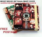 MICKEY MOUSE 360° APPLE IPAD 2 CASE COVER STAND KIDS SCHOOL CHARACTER CHILD FUN