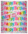 5/8 HAPPY BIRTHDAY PARTY CAKE CANDLES GROSGRAIN RIBBON