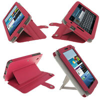 Pink Leather Case for Samsung Galaxy Tab 2 7.0 P3100 P3110 Wifi 3G Cover Holder