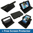 Black PU 360° Leather Case for Samsung Galaxy Tab 2 7.0 P3100 P3110 Wifi Cover