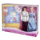 NEW Disney Princess Cindrella's Big Dance Party 2 Doll Gift Set with Bonus Book