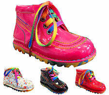 infant girl children ankle boots comfortable patent flat from size infant 5-12