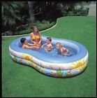 Intex Recreation Swim Center Paradise Lagoon Above Ground Inflatable Pool New