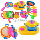 17pcs Play House Toys Small Kitchenware Simulation Kitchen Utensils Toy DZ88 New
