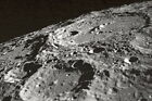New 5x7 Space Photo: Terraced Walled Moon Crater during Apollo 10 Mission