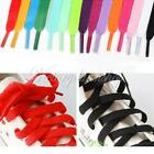 1 Pair Flat Multi-colored Shoelaces Strings Sports Sneaker Boot Laces 120cm Long