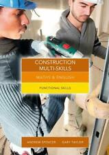 NEW Maths and English for Construction Multi-skills by Andrew Spencer Free Shipp