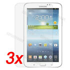 3x Clear LCD Screen Protector Front Film Cover For Samsung Galaxy Tab3 7.0 P3200
