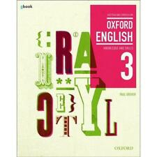 NEW Oxford Insight English 3 Textbook + Obook by Paul Grover Free Shipping