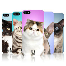 Head Case Designs Cat Breeds Hard Back Case Cover For Apple iPhone 5 5S