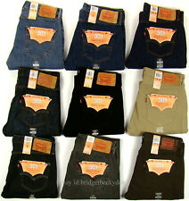 Levis 501 Jeans New Mens Original Button Fly NWT 29 30 31 32 33 34 36 38 40 42
